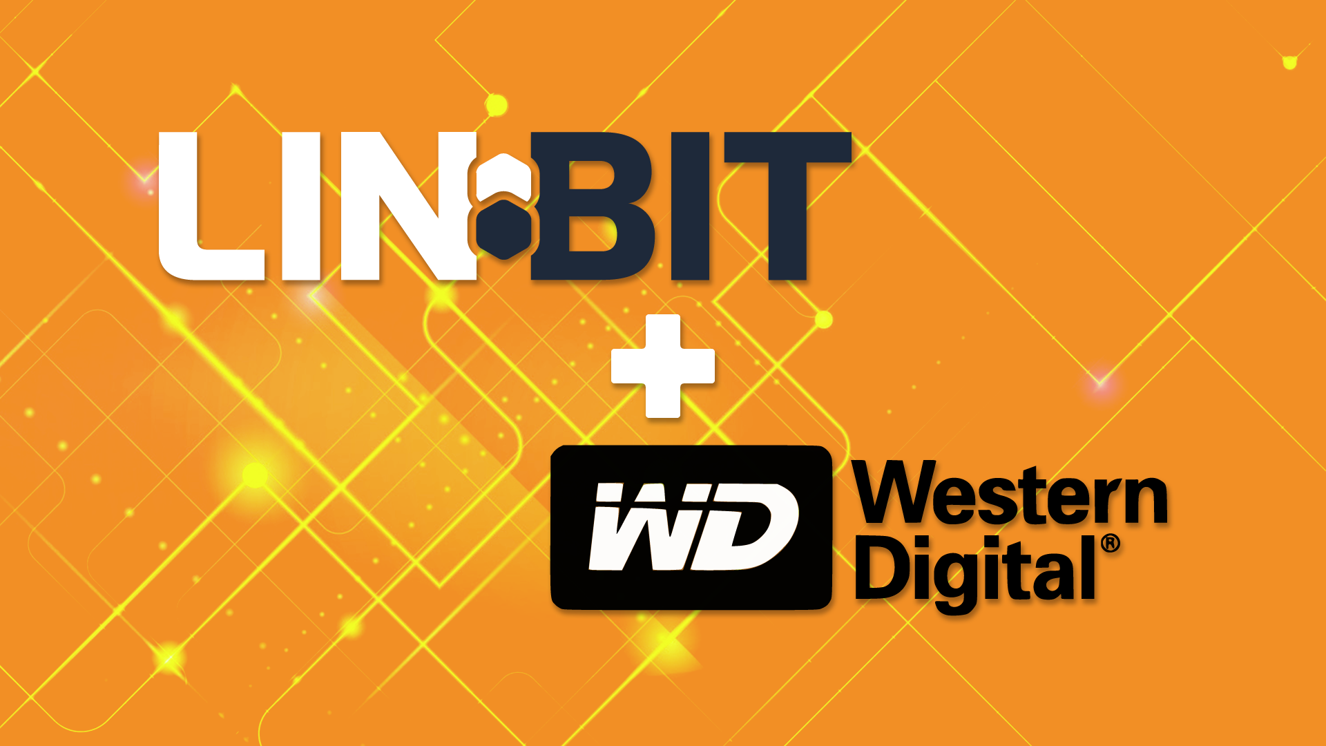 LINBIT has partnered with Western Digital