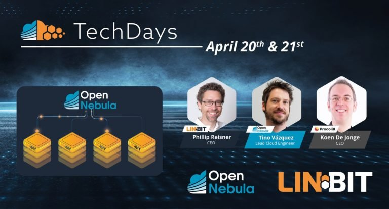 OpenNebula and LINBIT tech days speakers